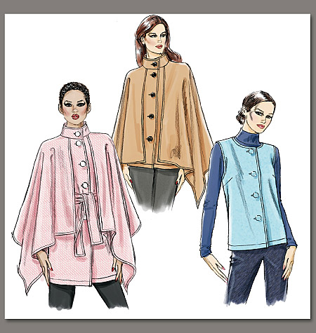 Vogue Patterns Misses' Jacket And Belt 8674