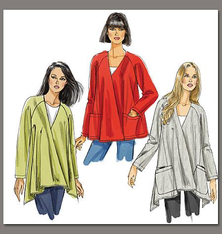 Vogue Patterns Misses' Jacket 8675