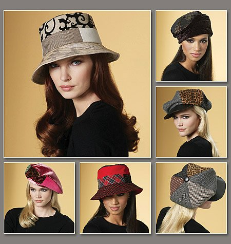 Vogue Patterns Hats 8681