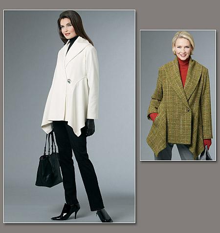 Vogue Patterns Misses' Jacket 8693