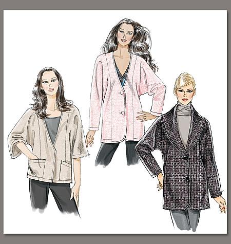 Vogue Patterns Misses' Jacket 8695