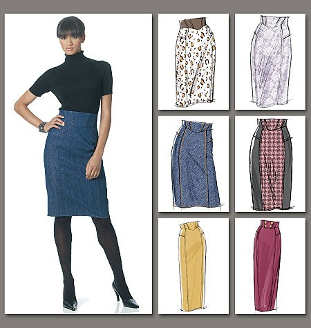 Vogue Patterns Misses'/Misses' Petite Skirt 8697