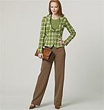Vogue Patterns 8701 Misses' Jacket, Dress, Skirt And Pants