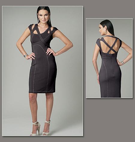 Vogue Patterns misses dress 8705