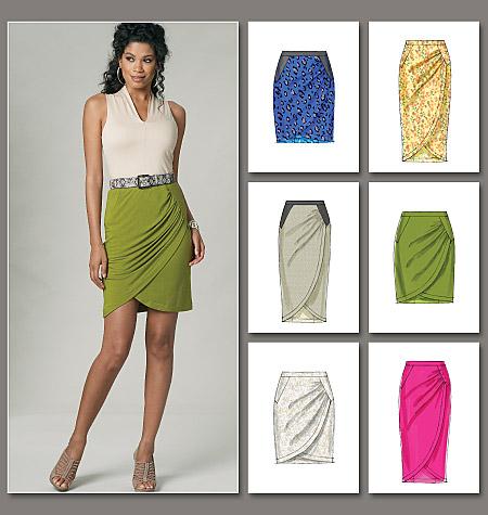 Vogue Patterns misses skirt 8711