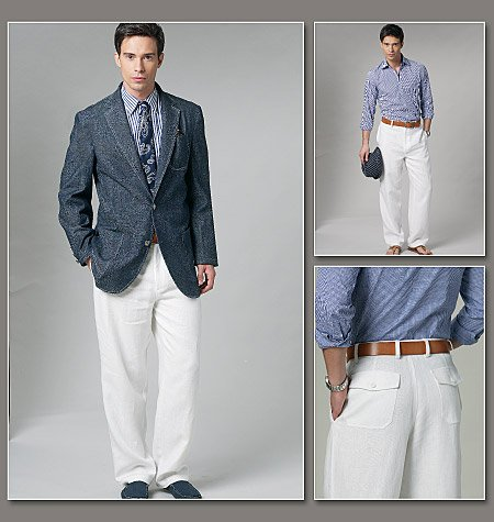Vogue Patterns mens's jacket and pants 8719