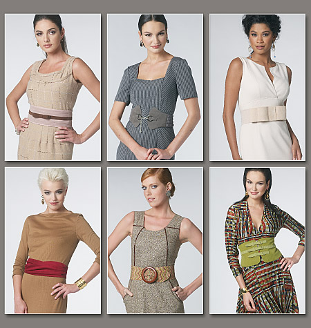 Vogue Patterns misses belts 8722