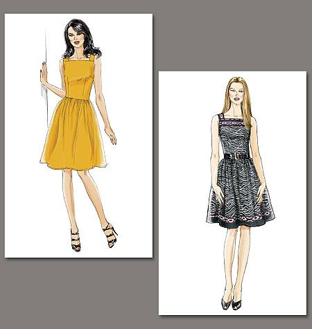 Vogue Patterns Misses' Dress Very Easy Vogue 8723
