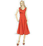 Vogue 8726 Pattern ( Size 10-12-14-16-18 )