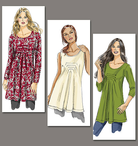 Vogue Patterns Misses' Top and Tunic