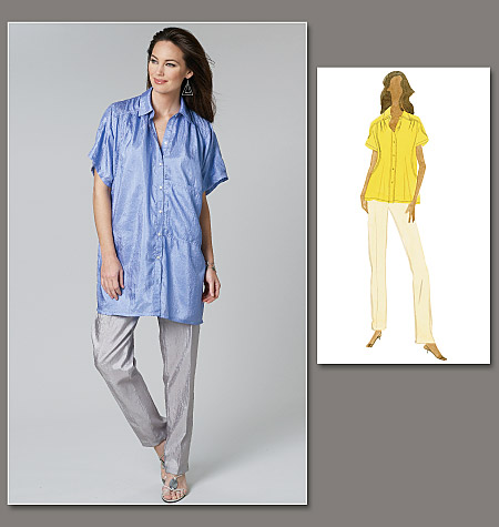 Vogue Patterns Misses' Shirt and Pants 8736