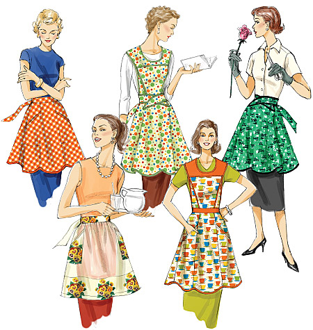 Vogue Patterns Aprons 8740