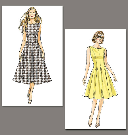 Vogue Patterns Misses'/Misses' Petite Dress 8743