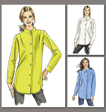 Vogue Patterns Misses' Shirt and Tunic 8746