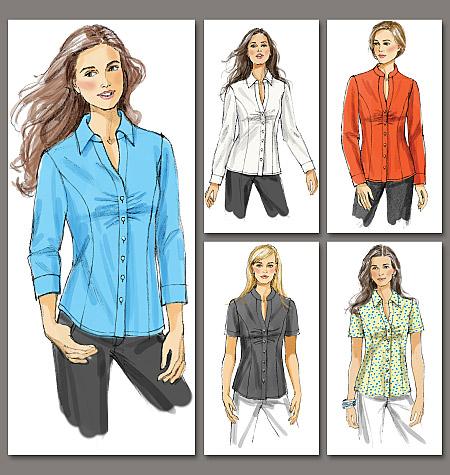 Vogue Patterns Misses' /Misses' Petite Shirt 8747