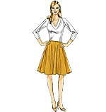 Vogue 8749 Pattern ( Size 8-10-12-14-16 )