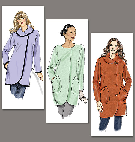 Vogue Patterns Misses' Jacket 8754