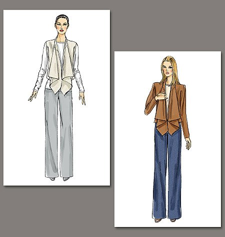 Vogue Patterns Misses'Jacket and Pants 8756
