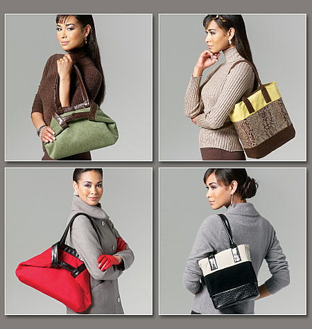 Vogue Patterns Bags 8760