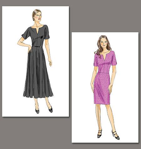 Vogue Patterns MIsses Dress 8765