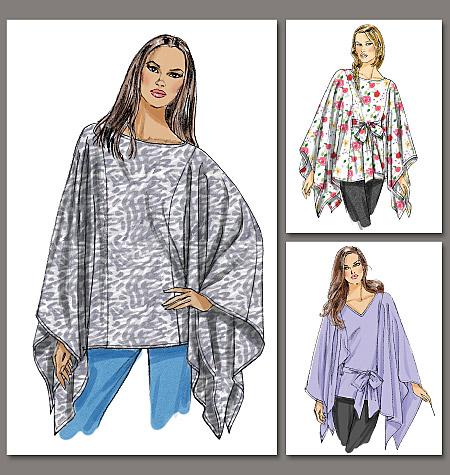 Vogue Patterns Misses Top and Belt 8769