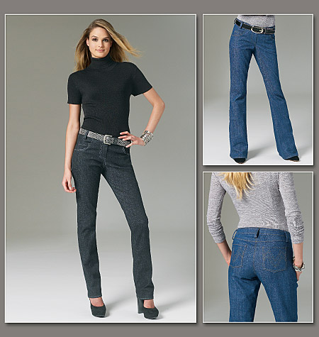Vogue Patterns Misses Jeans 8774