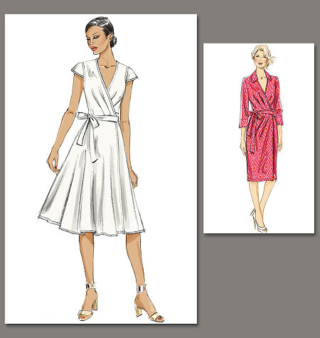 Vogue Patterns dress 8784
