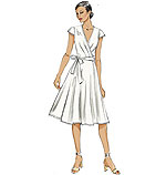 Vogue 8784 Pattern ( Size 6-8-10-12-14 )