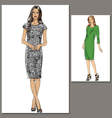 Vogue Patterns Misses Dress 8786