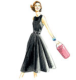 Vogue 8788 Pattern ( Size 6-8-10-12-14 )