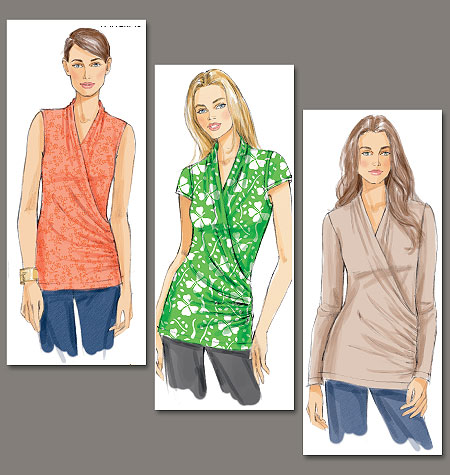 Vogue Patterns top 8790