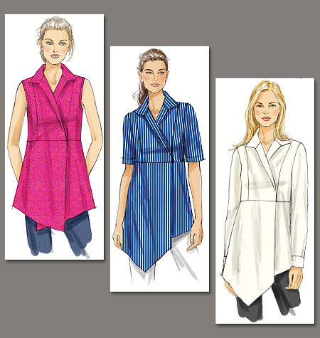 Vogue Patterns Misses Top and Tunic 8791