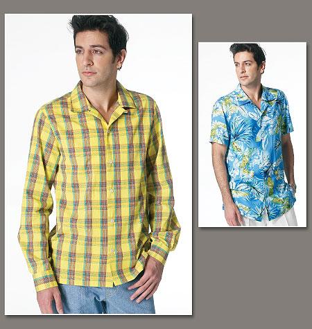 Vogue Patterns Mens Shirt 8800