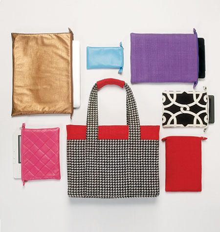 Vogue Patterns Tote and Electronic Device Case 8802