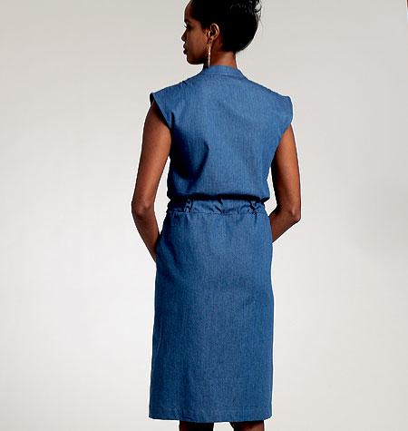 Vogue Patterns Misses'/Misses' Petite Dress and Belt 8810