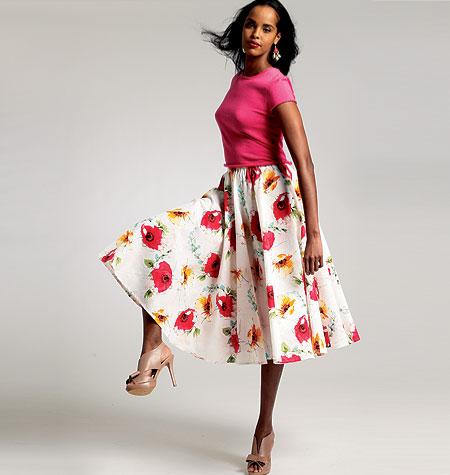 Vogue Patterns Misses Skirt 8818