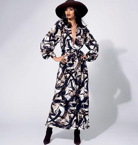 Vogue Patterns Misses' Tunic, Dress, Belt And Pants 8826
