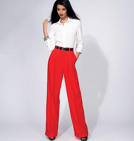 Vogue Patterns Misses' Pants 8836