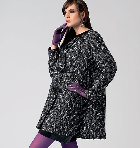 Vogue Patterns Misses' Coat 8860