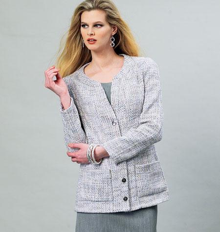 Vogue Patterns Misses' Jacket 8893