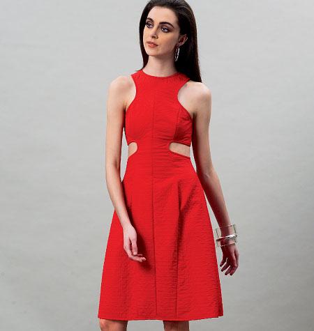 Vogue Patterns Misses Dress 8900