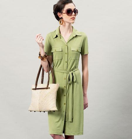Vogue Patterns Misses' Dress and Belt 8903
