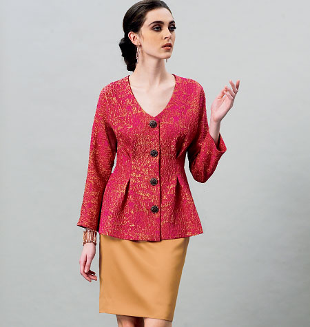 Vogue Patterns Misses Top 8906
