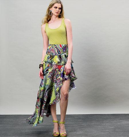 Vogue Patterns Misses Skirt 8908