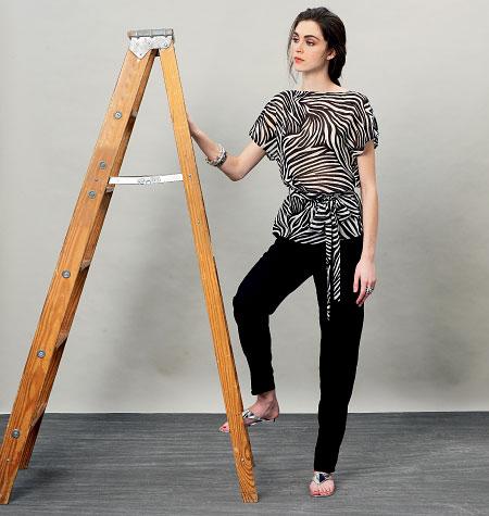 Vogue Patterns Misses' Top, Dress, Belt and Pants 8915