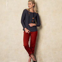 Vogue 8925 Pattern ( Size XSM-SML-MED )