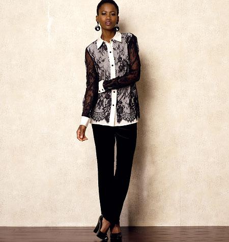 Vogue Patterns Misses' Shirt 8927