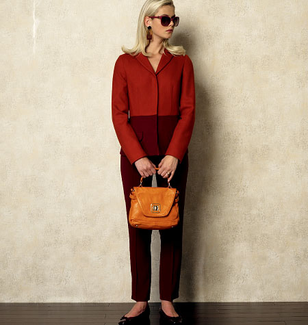 Vogue Patterns Misses' Jacket 8931