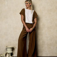 Vogue 8938 Pattern ( Size 6-8-10-12-14 )