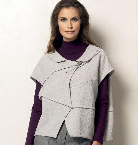 Vogue Patterns Misses' Vest 8954